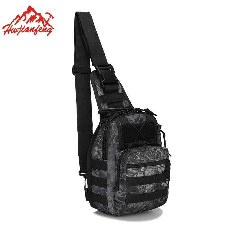 600D Oxford Waterproof Men Shoulder Messenger Bag Camouflage Tactical Bags Outdoor Cycling Sports Women Hiking