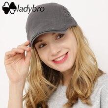 Ladybro zīmola sieviešu cepure vīrieša vāciņa cepure vīriešu cepurīte sieviešu berete cepure kokvilnas cepure cieta pavasara vasaras ikdienas unisex regulējama plakana cepure