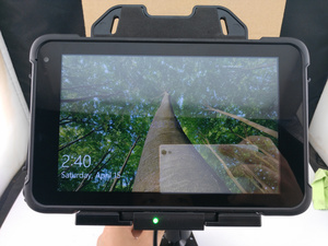 "Image 4 - 중국 8 ""산업용 견고한 태블릿 pc windows 10 홈 핸드 헬드 터미널 pda 데이터 수집기 방수 전화 바코드 스캐너 gps"