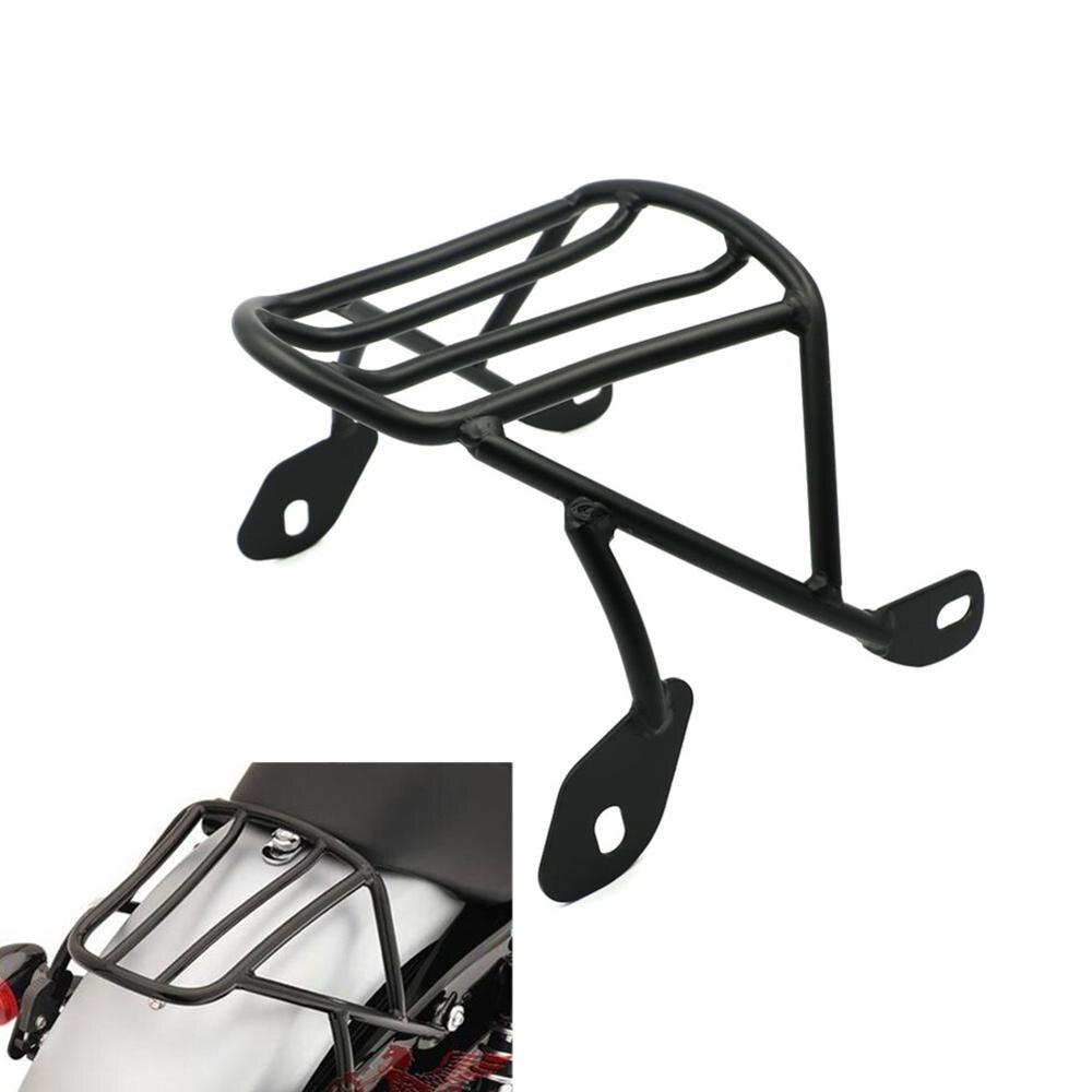 Detachable Luggage Saddlebag Cargo Rack Support Shelf Mounting Screws for Harley Sportster XL883 XL1200 X48 2004-2016 Solo Seat motorbike black solo seat luggage shelf frame rack for harley sportster xl 883 1200 85 03