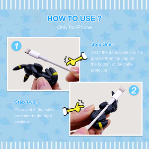 Image 5 - CHIPAL Cute Bite Animal Cable Winder for iPhone USB Data Cable Protector Wire Organizer Chompers Cartoon Bites Doll Model Holder