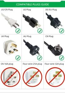 Image 4 - Универсальный адаптер AUKTION 10 шт./лот с европейской вилкой, 16 А, преобразователь электрической вилки, AC 250 В, дорожное зарядное устройство, настенный адаптер питания для США, Великобритании, Австралии