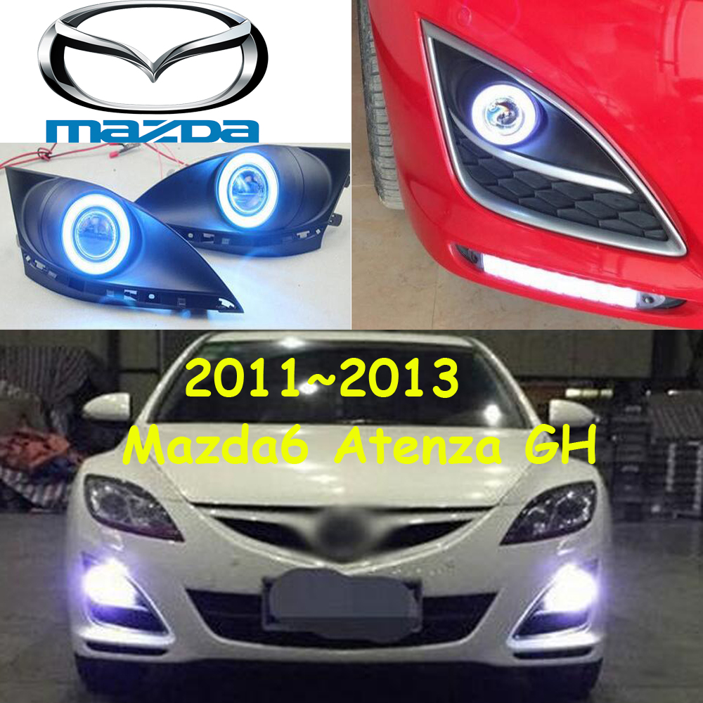 2011~2016 Mazd6 atenza fog light,Free ship!halogen,atenza headlight,Tribute,RX-7,RX-8,MX-3,Miata,CX-3,CX-5,atenza day lamp mazd6 atenza taillight sedan car 2014 2016 free ship led 4pcs set atenza rear light atenza fog light mazd 6 atenza axela cx 5
