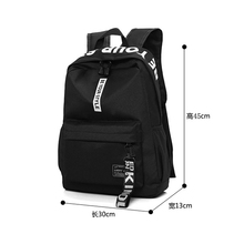 school bags for teenage girls  Student BagPack Black Teens Men Women Backpack Schoolbag Female back pack
