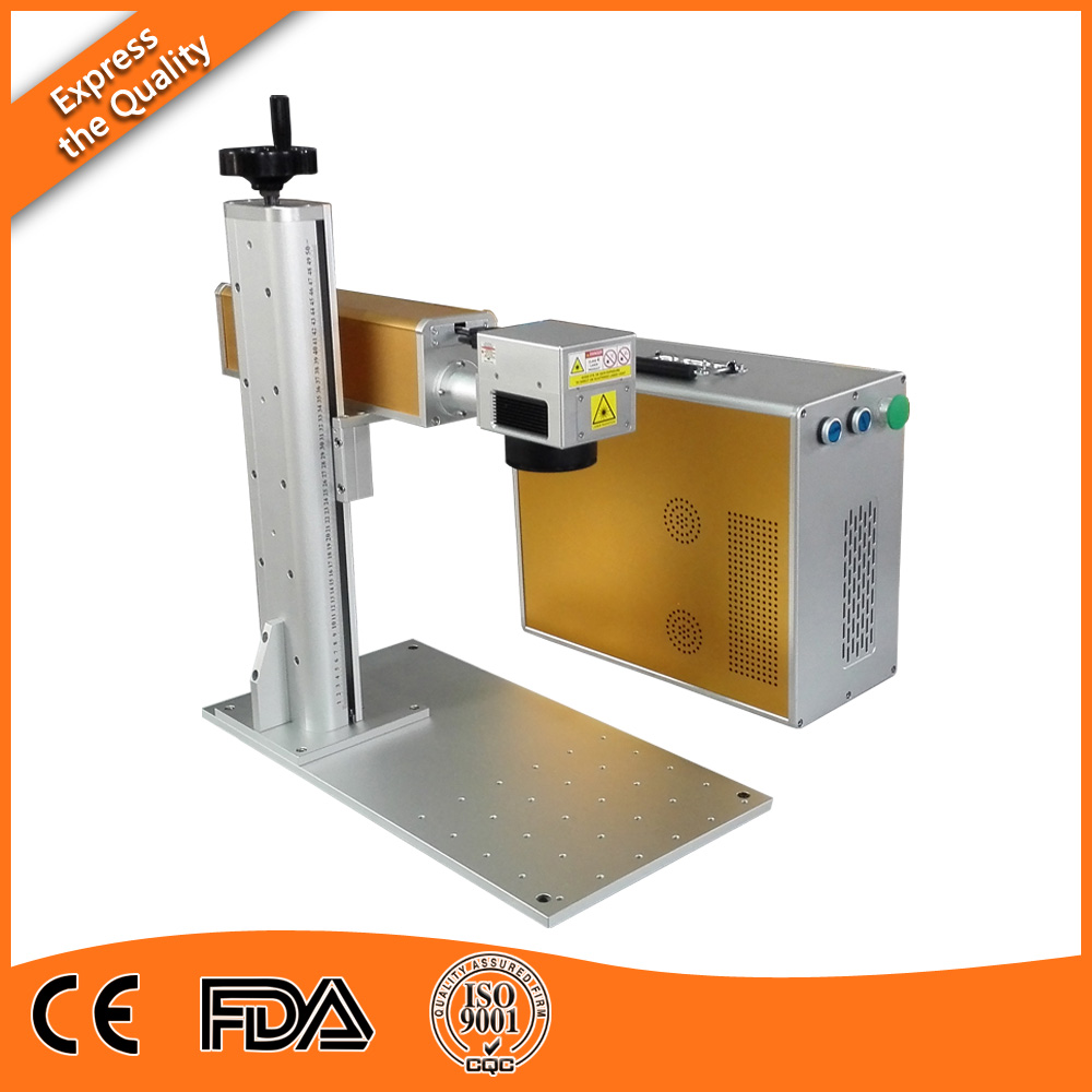 20w Portable MOPA  Laser Marking Machine for ABS and Brass