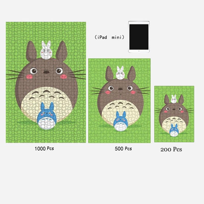 ხის Jigsaw Puzzle 1000 Pieses იაპონური - ფაზლები - ფოტო 5