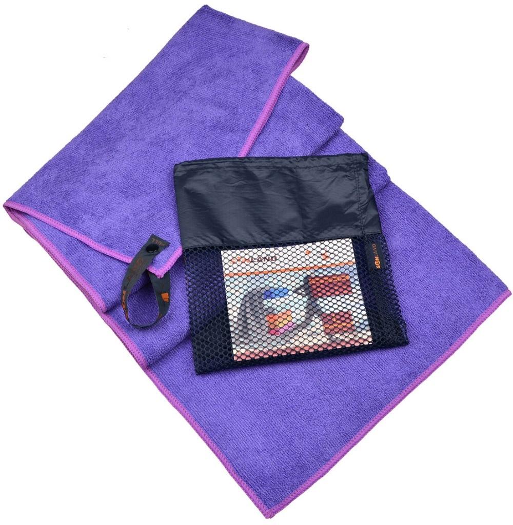 Sports Gym Towel: 51cmx102cm Microfiber Travel Camping Towel Sports Gym