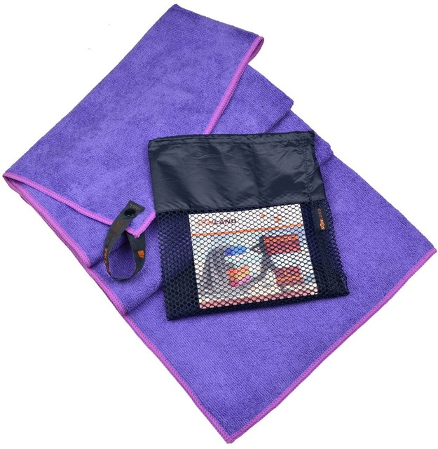 51cmx102cm Microfiber Travel Camping Towel Sports Gym Fitness Face Towels Ultra Absorbent  with Breathable Bag