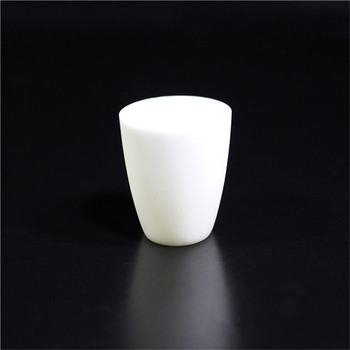 99.3% alumina crucible / 300ml / with lids / Arc-Shaped / corundum crucible / Al2O3 ceramic crucible / Sintered crucible фото
