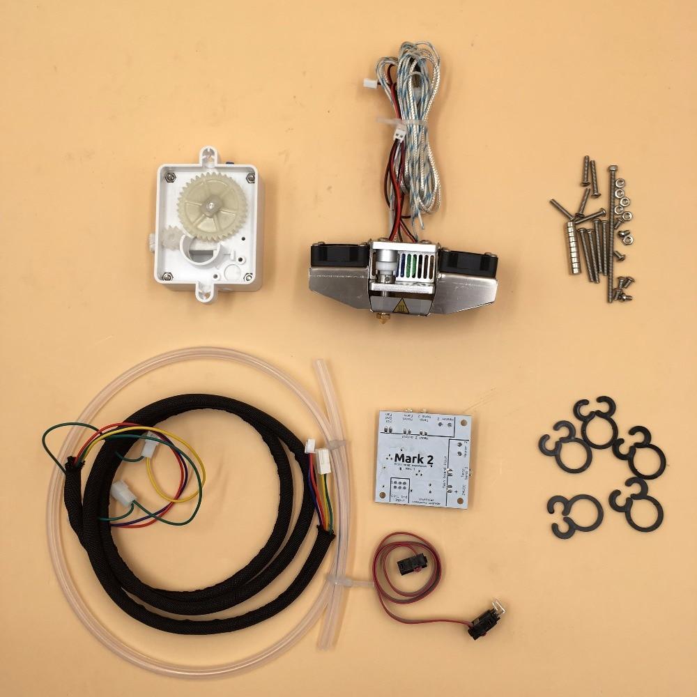 все цены на  Mark 2 board, hotend, extruder kit for Ultimaker 2+ 3d printer dual extrusion full kit  онлайн