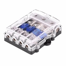 Universal 60A Car Auto Vehicle Stereo Audio Power Fuse Box Holder Block 1 In 4 Ways_220x220 online get cheap fuse block car audio aliexpress com alibaba group fuse box power tap at gsmportal.co