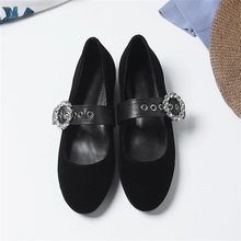 2019 spring and autumn fashion women's shoes high quality material comfortable inside beautifully decorated casual shoes