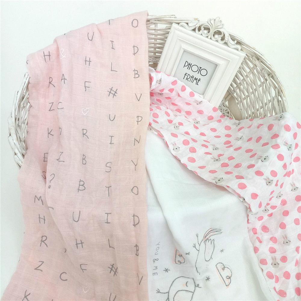 New Baby שמיכה 80 * 80cm הדפסה כותנה הדפסה - גמילה מחיתולים וחיתולים