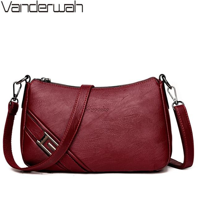 84d4e11eb24f US $17.84 42% OFF Hot Leather Luxury Handbags Women Bags Designer Handbags  High Quality Crossbody Bags For Women Shoulder Messenger Bag Sac A Main-in  ...