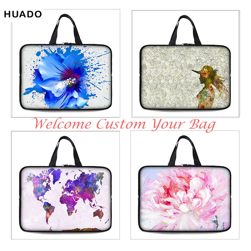 Laptop Sleeve Tablet Bag 7 9.7 10 10.1 11.6 12 13 13.3 14 14.4 15 - Notebook accessoires - Foto 1