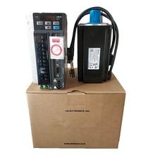 ECMA-C20807SS + ASD-B2-0721-B DELTA 0,75 кВт 3000 об/мин 2.39N.m ASDA-B2 AC драйвер серводвигателя наборы с 3 м мощность + кодер кабель тормоза