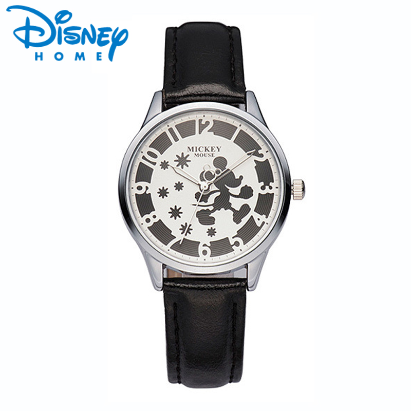 Original Disney Luxury Watches Women Top Brand Mickey Mouse Women Watch Girl Fashion Casual Quartz Wristwatch for Woman Ladies original disney brands girl pretty mickey mouse cartoon lovely watch best fashion casual simple quartz round leather watches