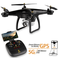 JJRC H68G GPS Drone With Camera 1080P HD 5G Wifi FPV Quadrocopter RC Helicopter Auto Follow Professional Dron 5G Wifi VS H68