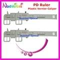 2 pcs de plástico pinça projetado PD optometria teste alunos régua medidor medidor Tester Pupilometer PDR06 frete grátis
