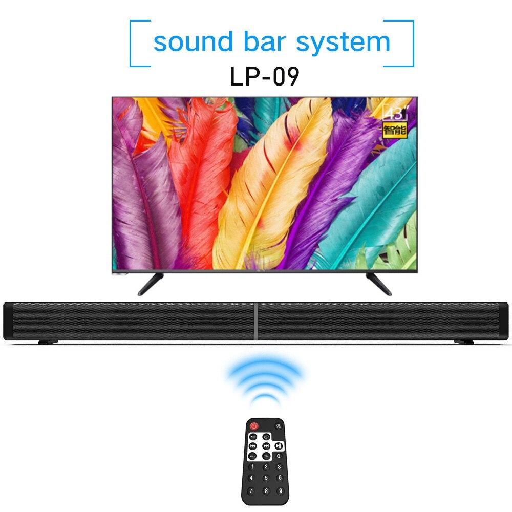 40w Home Theatre Speaker Soundbar Bluetooth Speaker Bluetooth 4.1 SaundBar Stereo Loudspeaker with Remote Control for TV theatre of incest