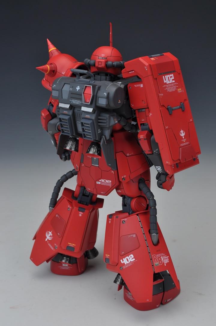 SIDE3 GK Suite de remodelage pour MG 1/100 Zaku II Gundam costume Mobile enfants jouets-in Jeux d'action et figurines from Jeux et loisirs    3