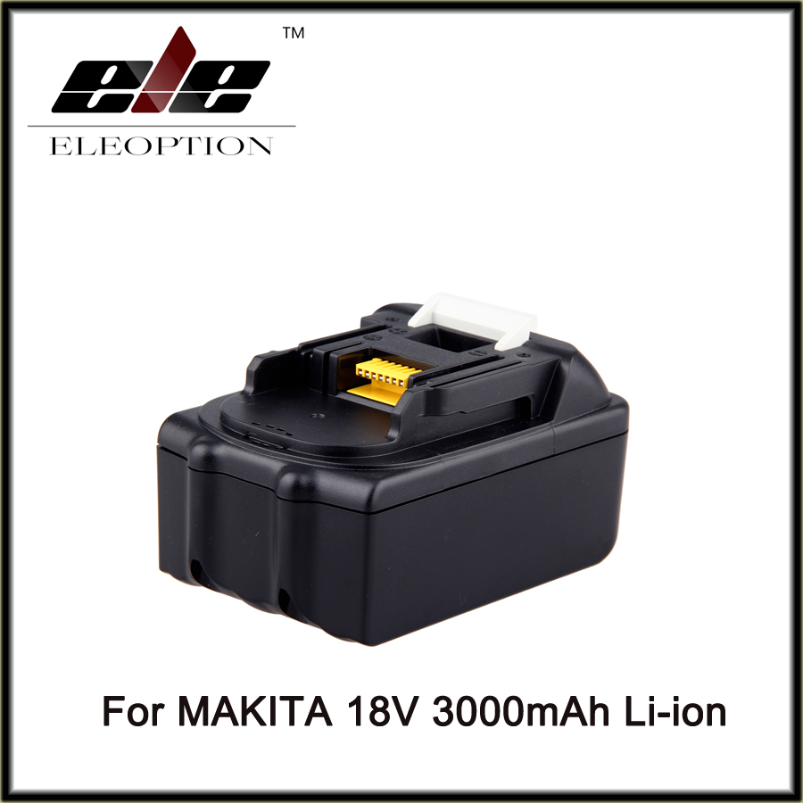 ELEOPTION for Makita 18V 3000mAh Power Tool Battery Pack for BL1830 BL1840 Recharegeable Battery Cordless Drill Li-ion Batteries power tool battery hit 25 2v 3000mah li ion dh25dal dh25dl bsl2530 328033 328034 page 5