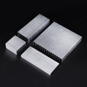 Image 4 - 押出アルミニウム製ヒートシンクハイパワー led ic チップクーラーラジエーターヒートシンクドロップ無料