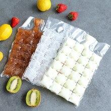 10 шт. высококачественный пластиковый прозрачный мешок для льда одноразовые прозрачные пакеты для мороженого на палочке хранилище для мороженого одноразовые пакеты для льда 19X30 см