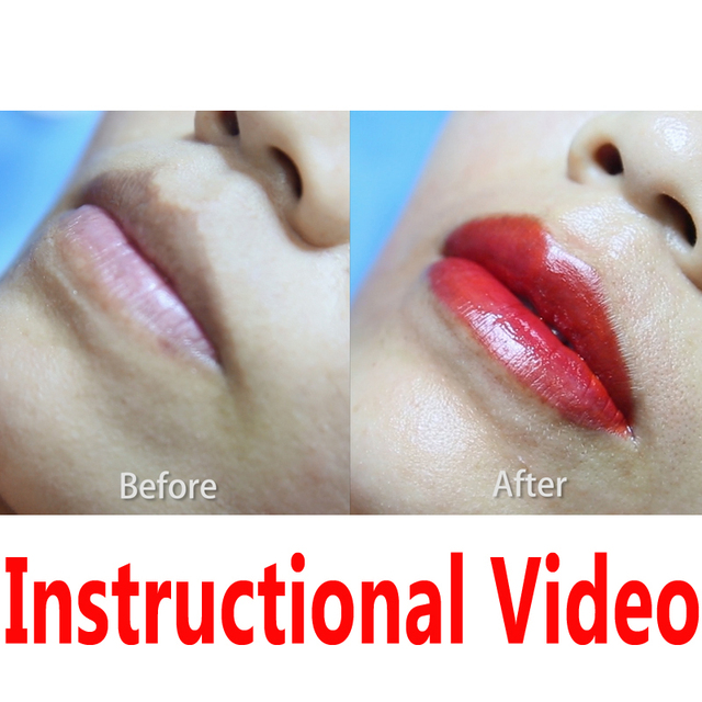 Lip Instructional Video 01 Famisoo Semi-permanent Makeup  (Please do not pay for purchase, watch for free)
