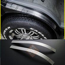JY 2 шт. sus304 Нержавеющаясталь переднее крыло крышка кузова под давлением отделкой Автомобиль Стайлинг Обложка Интимные аксессуары для TOYOTA HIACE 200
