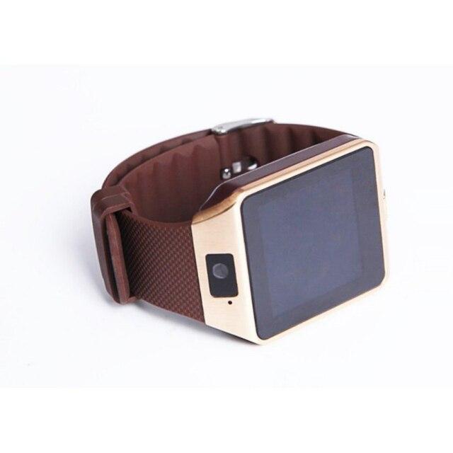 DZ09 Digitaal Slim Horloge Met Camera Ondersteuning SIM TF Card Display Smartwatch Voor Android Telefoons 5