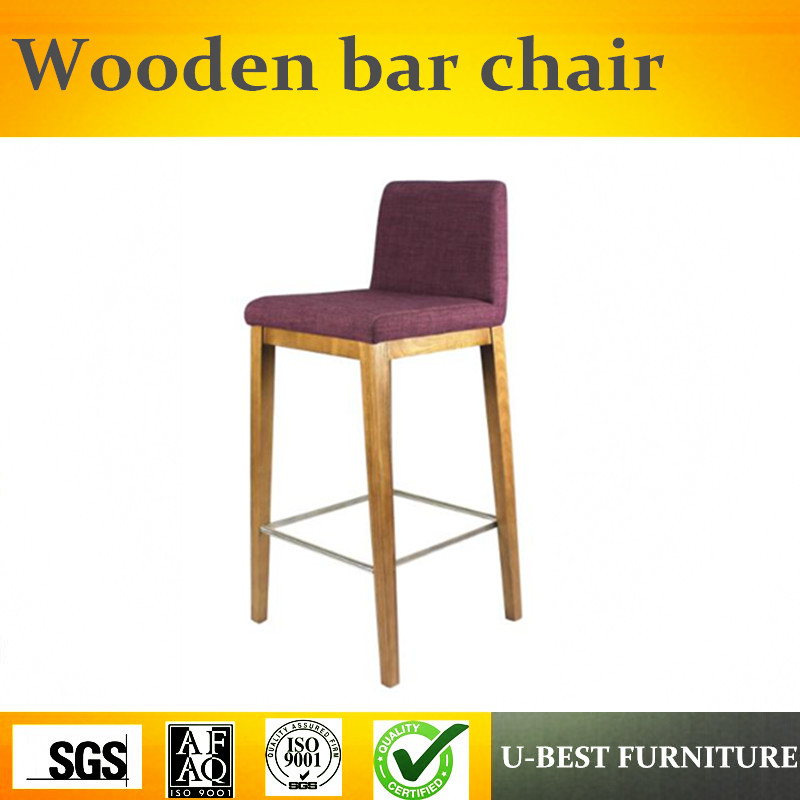 U-BEST European Style Customized commercial bar counters/kitchen bar counter designs,Kitchen High Bar Chair free shipping u best kitchen & dining furniture wooden barstool with a foot rest counter bar stools and counter chairs