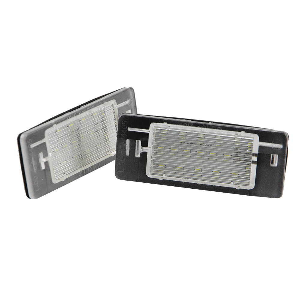 2x Canbus 3528SMD led License plate light number plate lamp Car Light Bulbs for Opel Vectra C Estate 2002-2008 Car light source 1pair canbus free led car license plate light number plate lamp for opel vectra c estate 2002 2003 2004 2005 2006 2007 2008