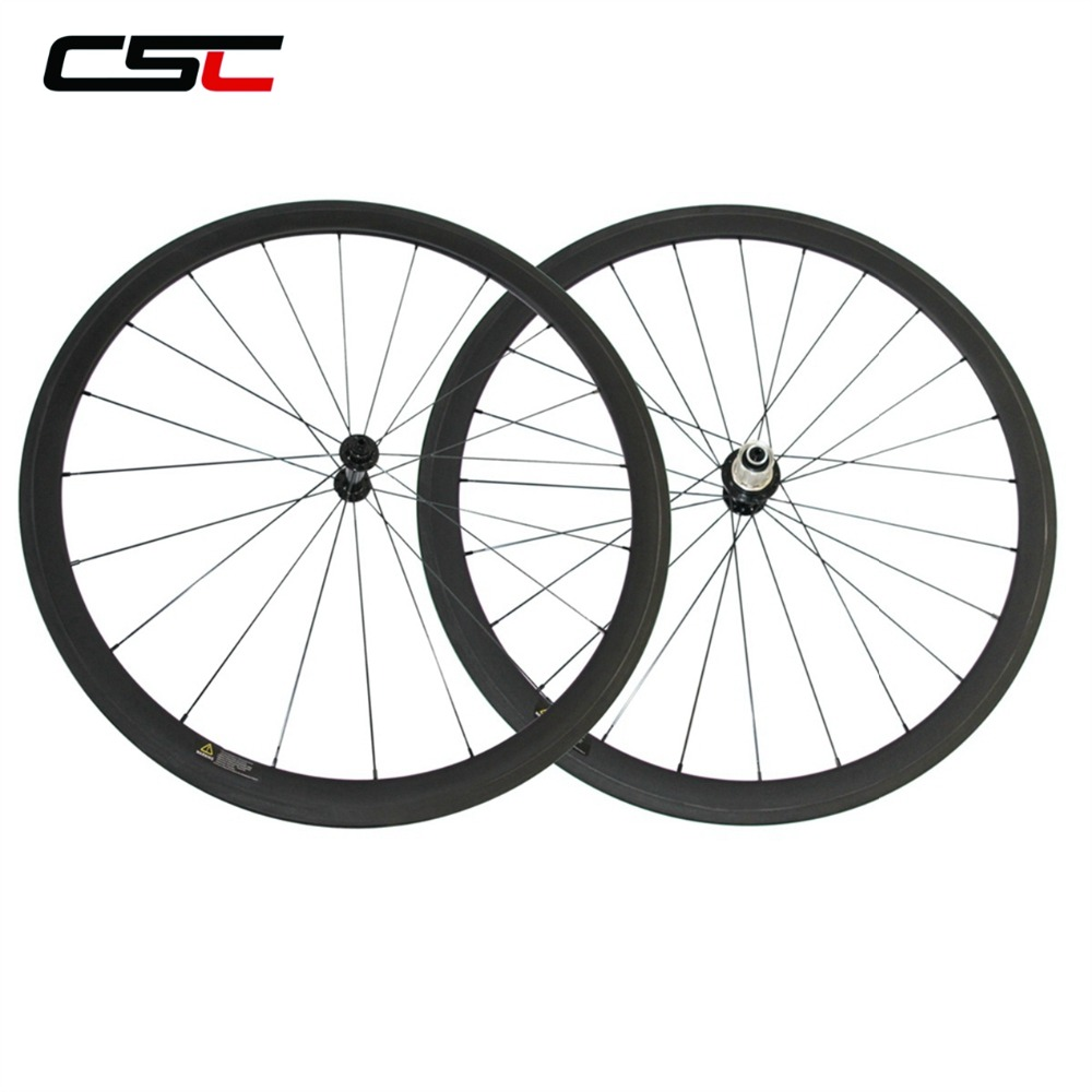700C Wheelset 24mm 38mm 50mm 60mm 88mm Tubular Or Clincher Powerway R13 Ceramic Hub With Sapim