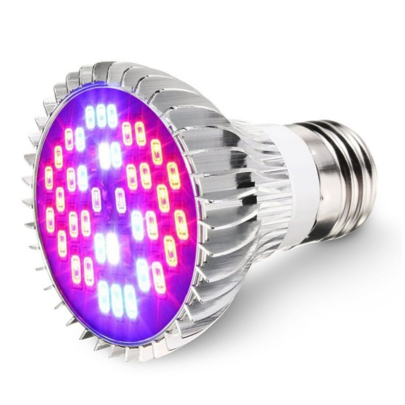 Growing Lamps 40 LED Lights E27AC 85~265V 30W Grow Lights for Flower Plant Hydroponics System