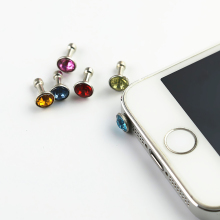 Set of 5 Diamond Cell Phone Dust Plugs