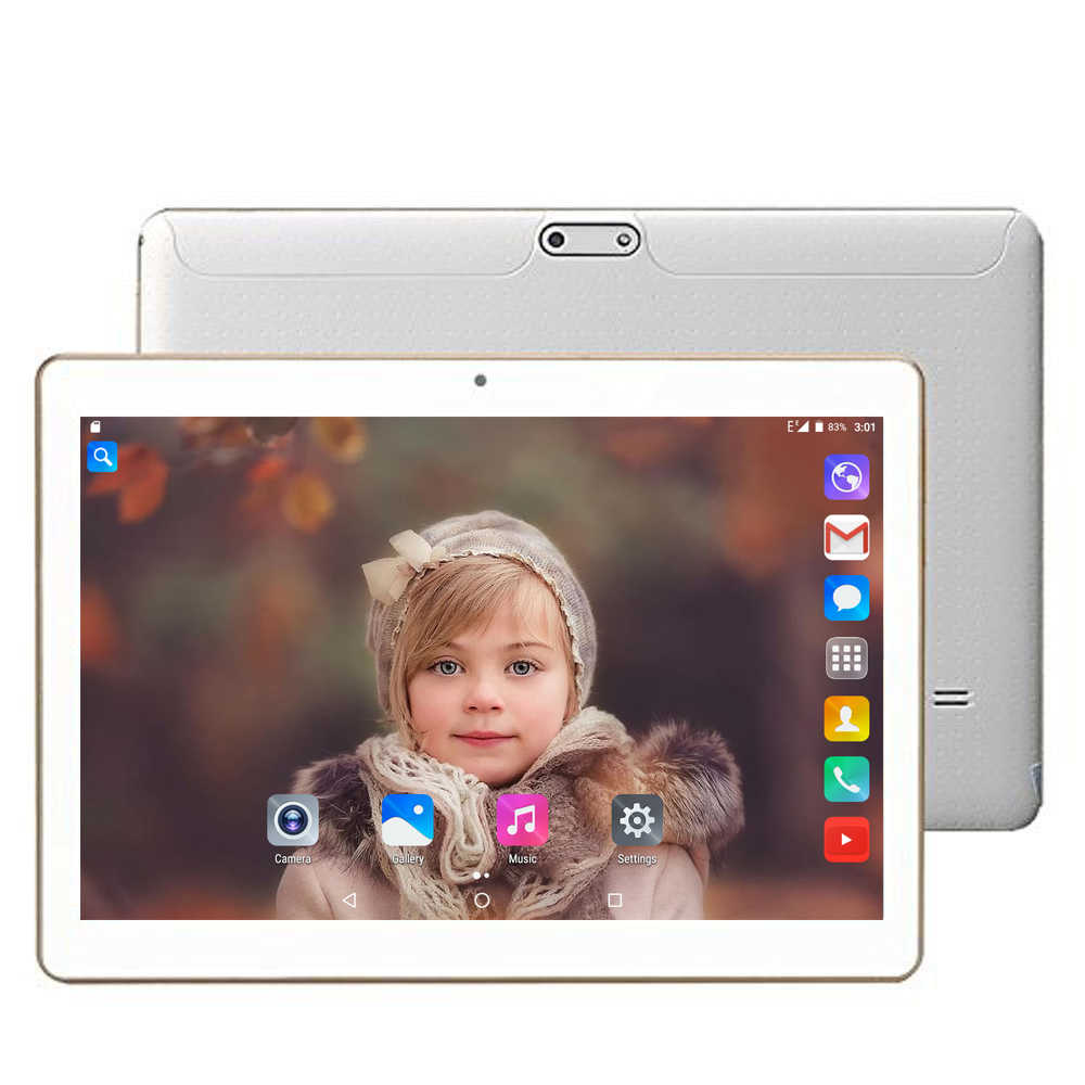 Tablette 10.1 inch touch tablet with sim card slot 1280x800 HD IPS octa core 3g android tablet pc mini laptop computer android 7