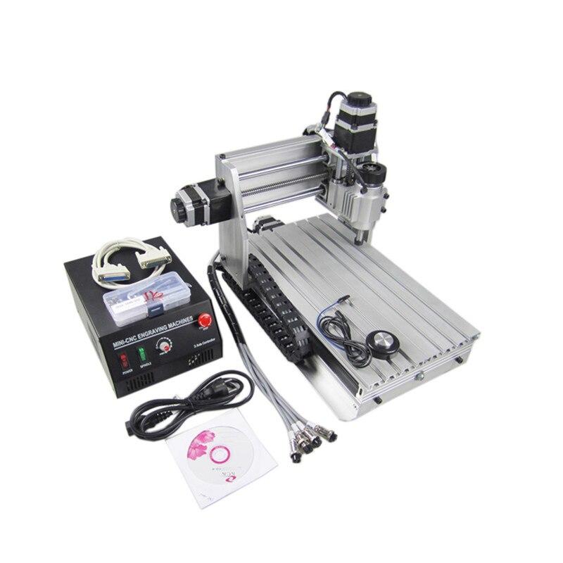 CNC 3020 T-DJ Mini Desktop Engraving Machine CNC2030 Woodworking lathe Carving Router For PCB/Wood etc Числовое программное управление