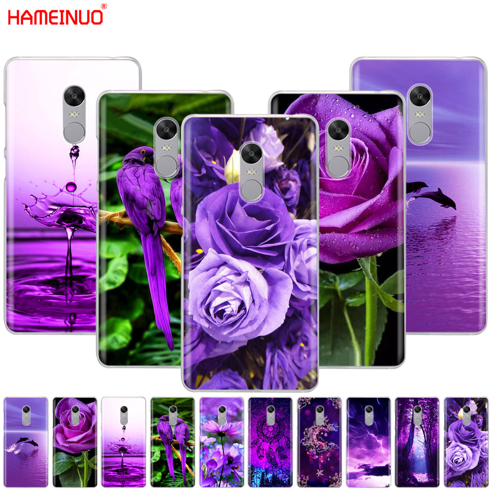HAMEINUO infinity on purple Cover phone Case for Xiaomi redmi 5 4 1 1s 2 3 3s pro PLUS redmi note 4 4X 4A 5A