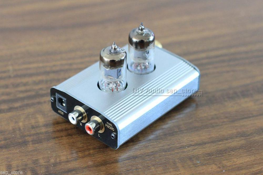 Hifi 6J1 tube Phono préampli simple extrémité classe A MM amplificateur phono