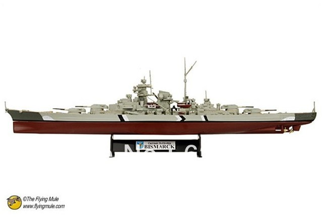 freeshipping!! the newest !!1:700 Fov 86006   world war ii the german army Bismarck battleships alloy model  military model
