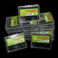Wholesale 10box Lot 1 15 Carbon Steel Fishing Hook Fishhooks Durable Jig Head Fishing Hooks With