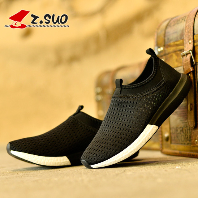 Z . suo men's casual shoes, male the trend of the net fabric , low-top , breathable d network shoes