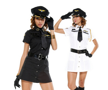 Hot female navy officer