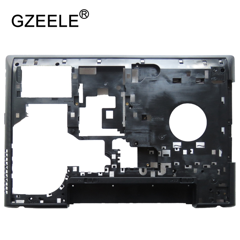 GZEELE New Laptop Bottom Base <font><b>Case</b></font> Cover Assembly For <font><b>Lenovo</b></font> Ideapad <font><b>G500</b></font> G505 G510 G590 15.6