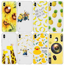 Yellow Cover for Huawei P20 Lite P20 Pro P8 P9 P10 Y6 2017 Mini Nova 3i Nexus 6p Y7 G8 Fundas For Huawei P Smart Phone Cases(China)