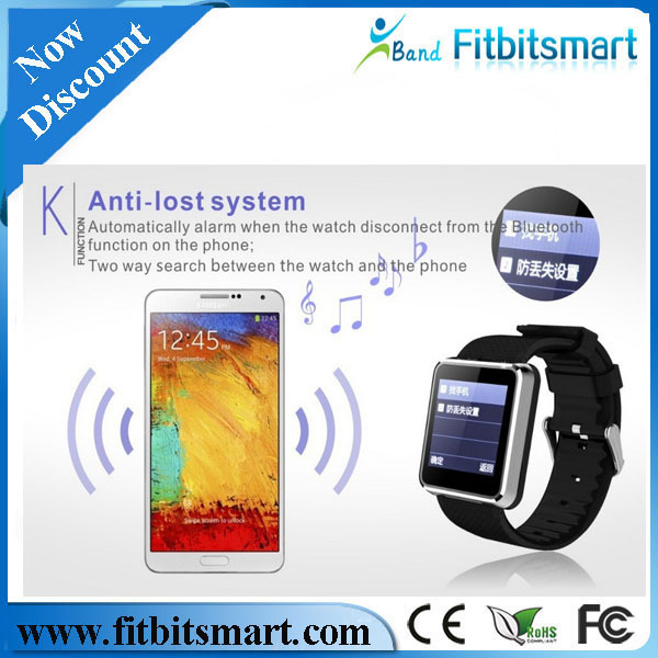 Waterproof Sleep Monitor Smart Watch F1 Sync Call SMS Facebook Twitter Pedometer 1.3MP Camera MP3 MP4 Player Anti lost Men wach - Shenzhen Fitbitsmart Technology Co; Ltd store
