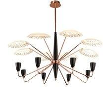 Northern Europe Modern Pendant Light Living Room Fashion Lighting Creative Glass Peacock LED Hotel Project Light Fitting
