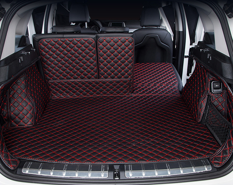 for 2017 2018 <font><b>2019</b></font> <font><b>BMW</b></font> <font><b>X1</b></font> F48 rear tail car trunk mat durable boot carpets full coverage image