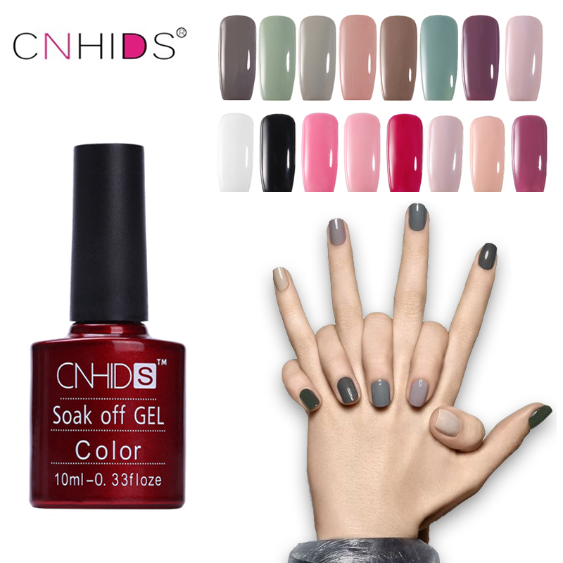 CNHIDS 132 Color Nail Polish Langvarig Soak Off Gel Polish UV & LED Lampe Nail Larn DIY Gel Nail Larn Manicure Art Tools